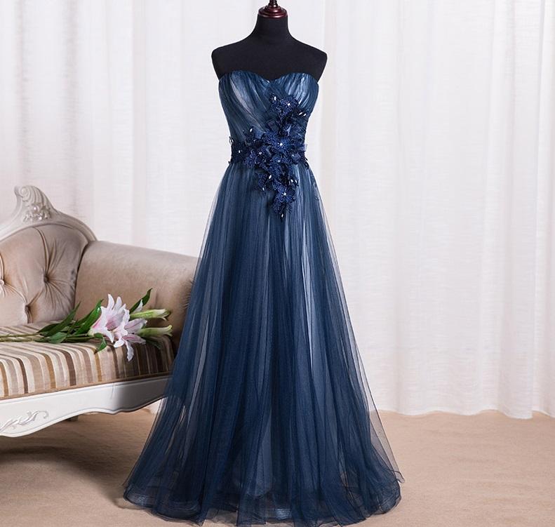 Dlhé spoločenské šaty - 8 veľkostí, 3 farby - Obrázok č. 1