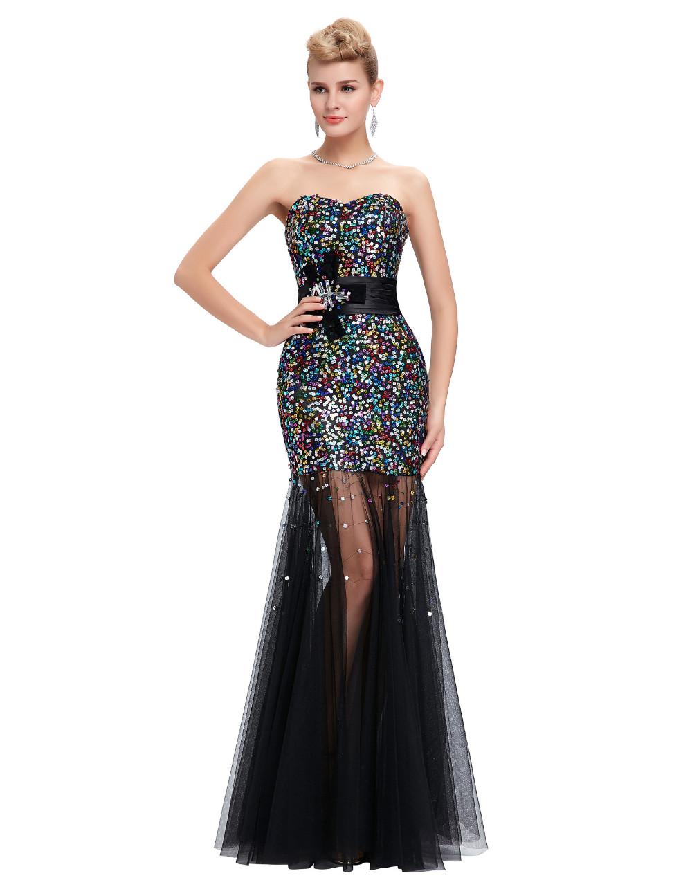 Dlhé spoločenské šaty - 8 veľkostí Grace Karin - Obrázok č. 1