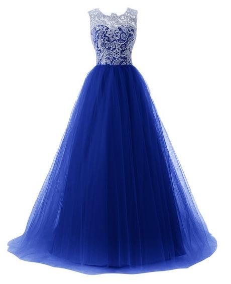 Dlhé spoločenské šaty - 6 veľkostí, 11 farieb - Obrázok č. 1