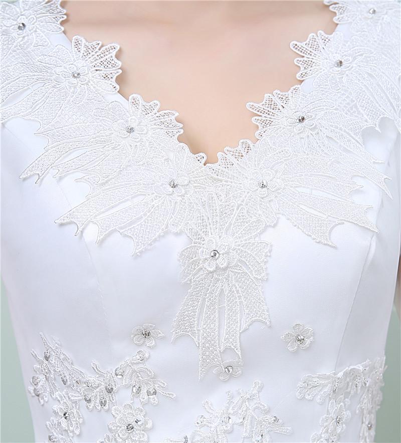 Dlhé svadobné šaty - 11 veľkostí - Obrázok č. 3