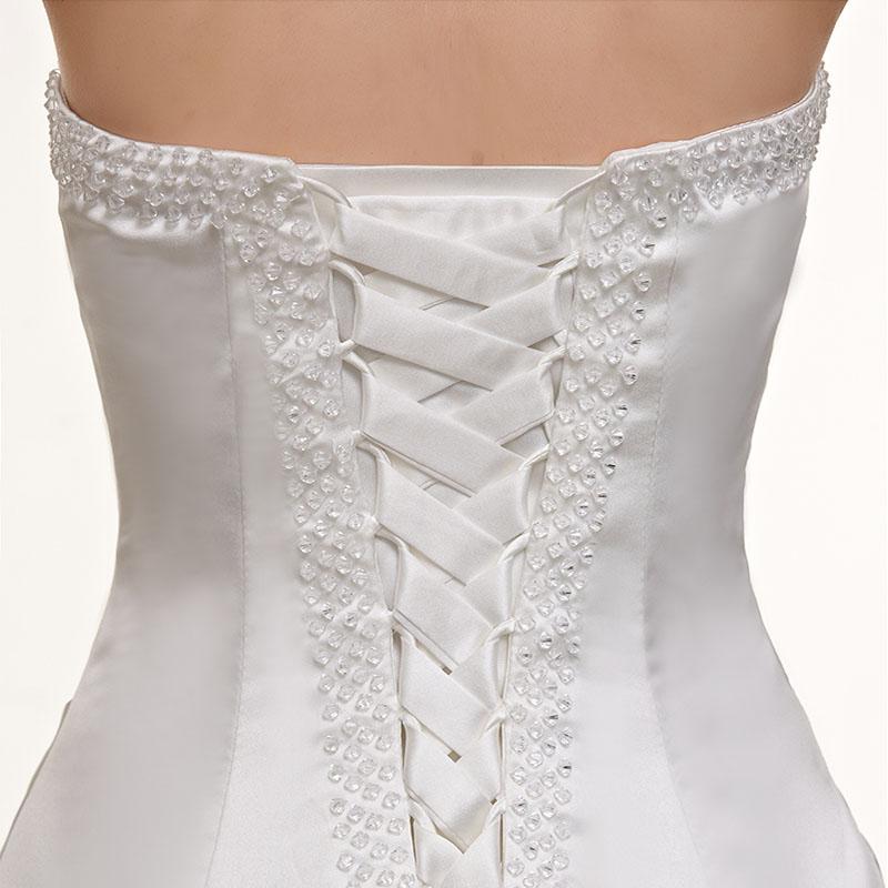 Dlhé svadobné šaty - 7 veľkostí, 2 farby - Obrázok č. 2