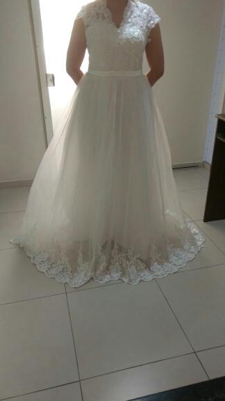Dlhé svadobné šaty - 12 veľkostí - Obrázok č. 3