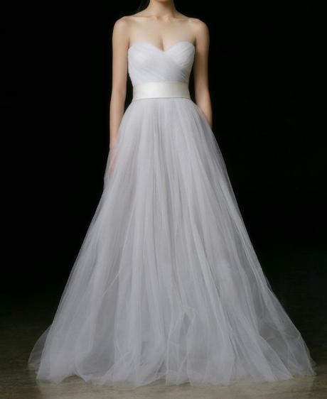 Dlhé svadobné šaty - 10 veľkostí, rôzne farby - Obrázok č. 1