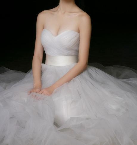 Dlhé svadobné šaty - 10 veľkostí, rôzne farby - Obrázok č. 2