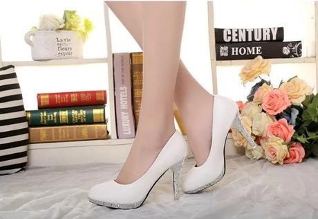 Svadobné lodičky, obuv - 5 veľkostí - Obrázok č. 2