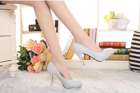 Svadobné lodičky, obuv - 5 veľkostí - Obrázok č. 3