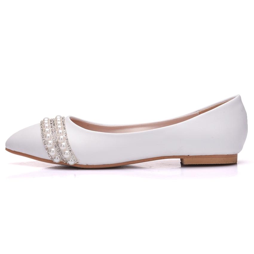 Svadobné baleríny, obuv - 10 veľkostí - Obrázok č. 4