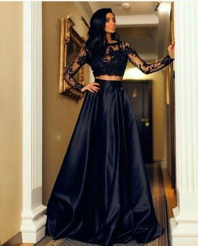 Dlhé spoločenské šaty - sukňa + top - 4 veľkosti - Obrázok č. 3