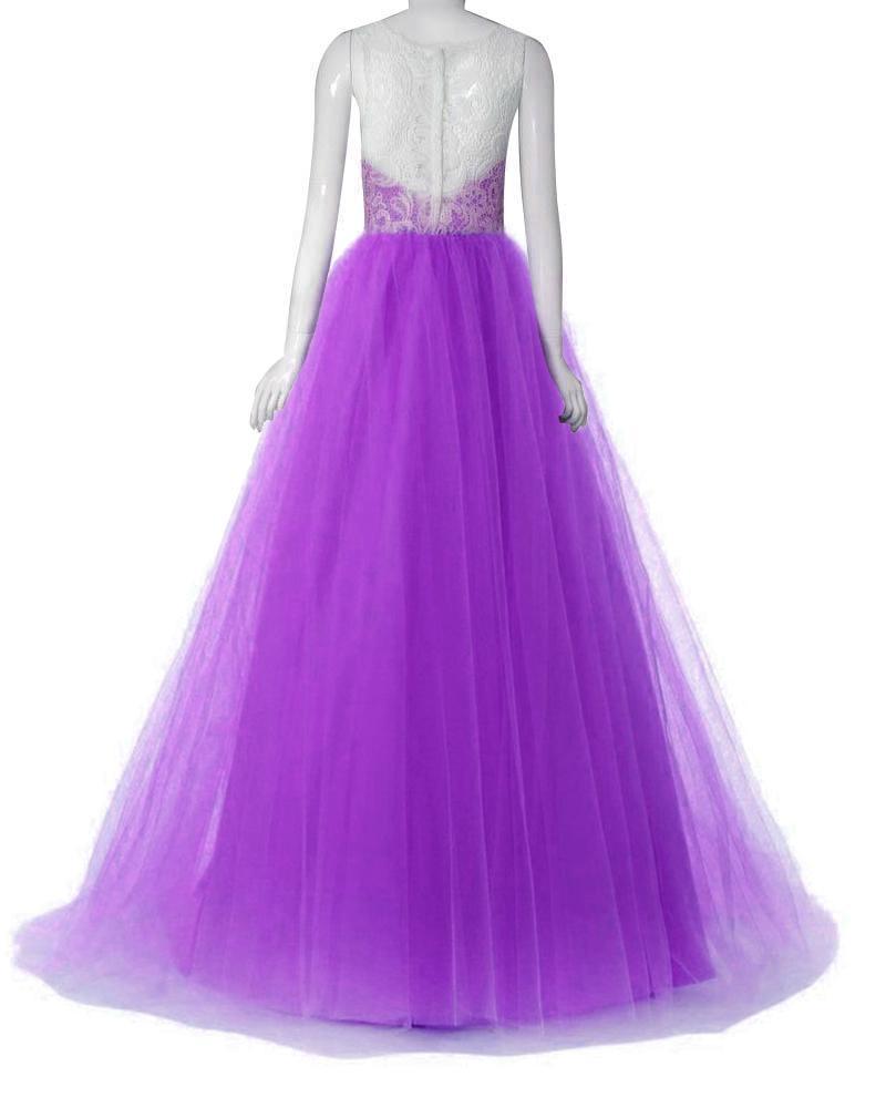Dlhé spoločenské šaty - 4 veľkosti, 3 farby - Obrázok č. 2