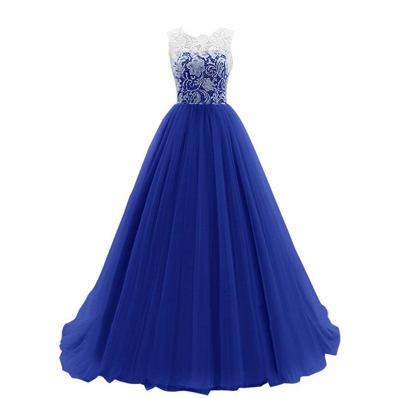 Dlhé spoločenské šaty - 4 veľkosti, 3 farby - Obrázok č. 3