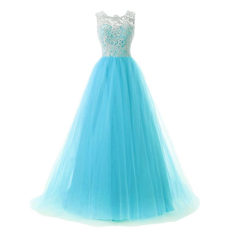 Dlhé spoločenské šaty - 4 veľkosti, 3 farby - Obrázok č. 4