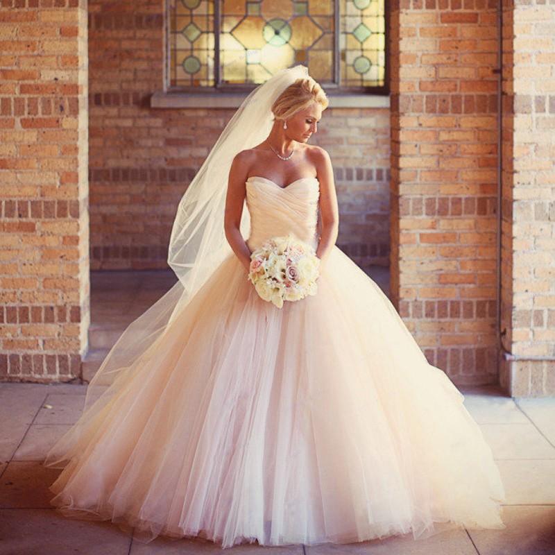 Dlhé svadobné šaty - 15 veľkostí, 7 farieb - Obrázok č. 1