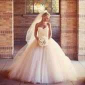 Dlhé svadobné šaty - 15 veľkostí, 7 farieb, 38