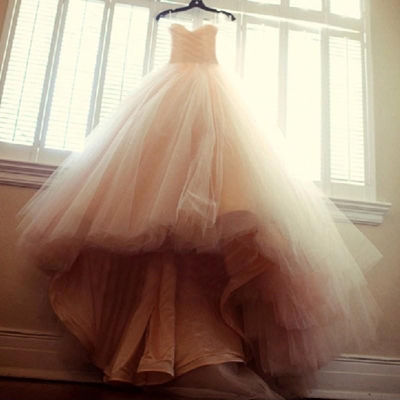 Dlhé svadobné šaty - 15 veľkostí, 7 farieb - Obrázok č. 2