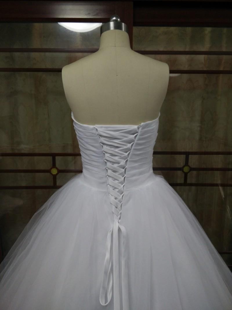 Dlhé svadobné šaty - 15 veľkostí, 7 farieb - Obrázok č. 3