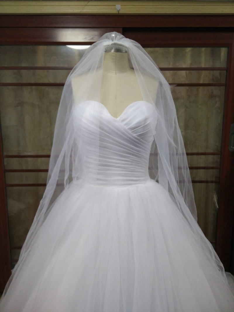 Dlhé svadobné šaty - 15 veľkostí, 7 farieb - Obrázok č. 4