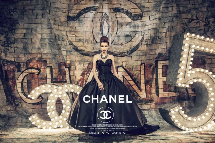 Dlhé spoločenské šaty - inšp. Chanel - 8 veľkostí - Obrázok č. 2