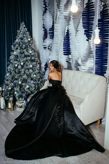 Dlhé spoločenské šaty - inšp. Chanel - 8 veľkostí - Obrázok č. 3