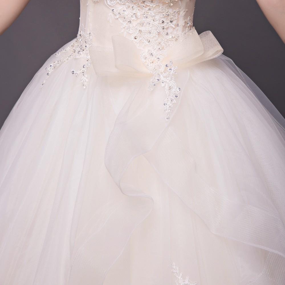 Dlh svadobné šaty - 8 veľkostí - Obrázok č. 4
