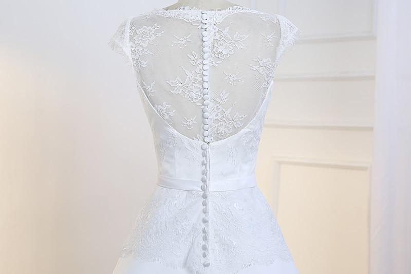 Dlhé svadobné šaty - 10 veľkostí, 5 farieb - Obrázok č. 2