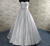 Dlhé svadobné šaty - 8 veľkostí, 2 farby, 40