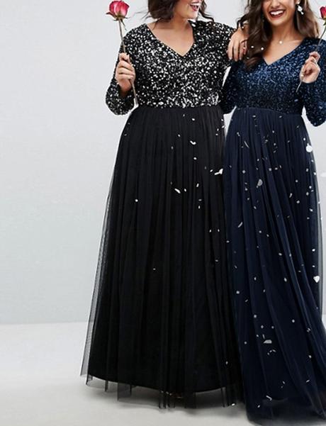 Dlhé spoločenské šaty pre molet 6 veľkostí,3 farby - Obrázok č. 1