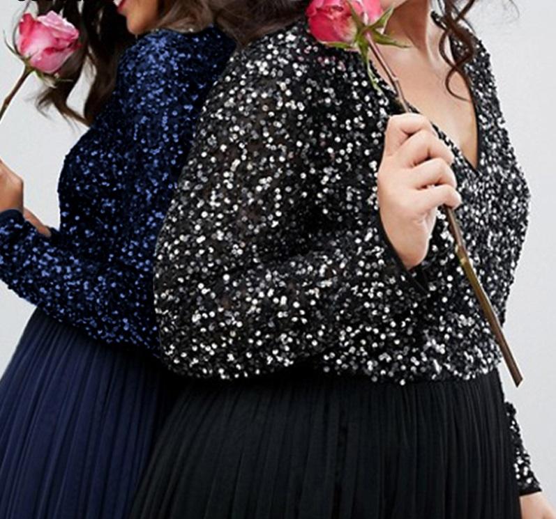 Dlhé spoločenské šaty pre molet 6 veľkostí,3 farby - Obrázok č. 2