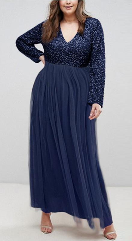 Dlhé spoločenské šaty pre molet 6 veľkostí,3 farby - Obrázok č. 3