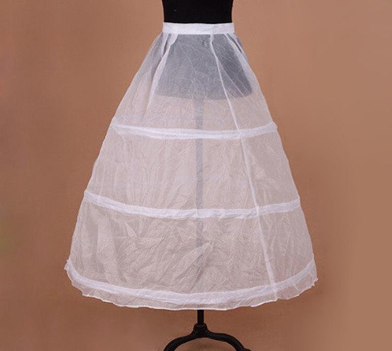 3 kruhová spodnička bez tylu - Obrázok č. 1