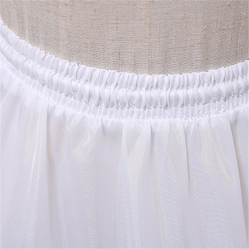 3 kruhová spodnička s tylom na gumičku - Obrázok č. 3