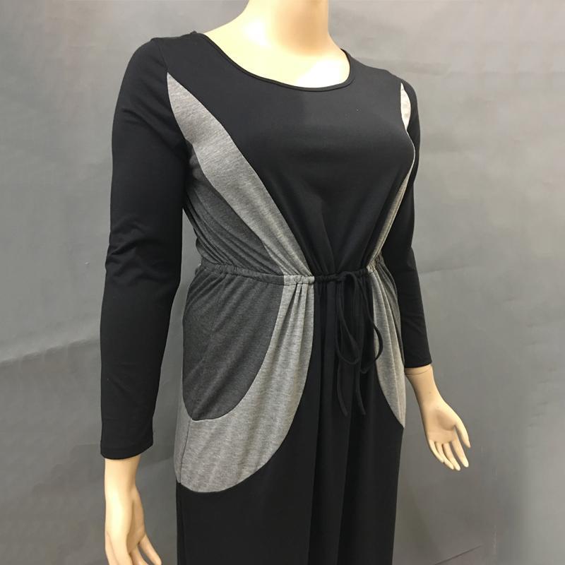 Dlhé šaty pre molet a tehotné - 5 veľkostí - Obrázok č. 4