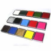 Farebné pečiatky - 15 farieb,