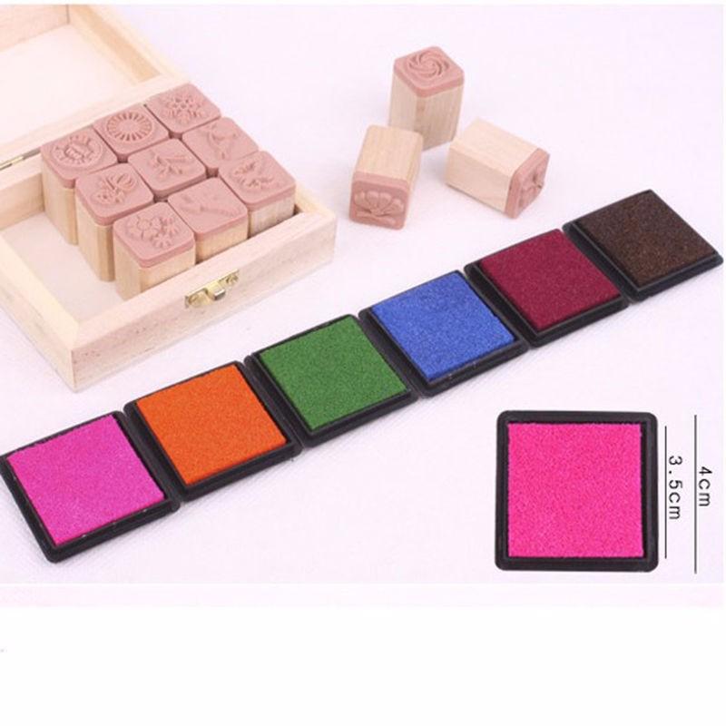 Farebné pečiatky - 15 farieb - Obrázok č. 2