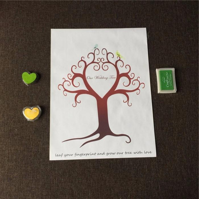 Strom šťastia - spomienkový strom - viac vzorov - Obrázok č. 2