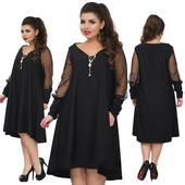 Krátke šaty pre moletky - 5 veľkostí, 56