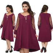Krátke šaty pre moletky - 5 veľkostí, 50