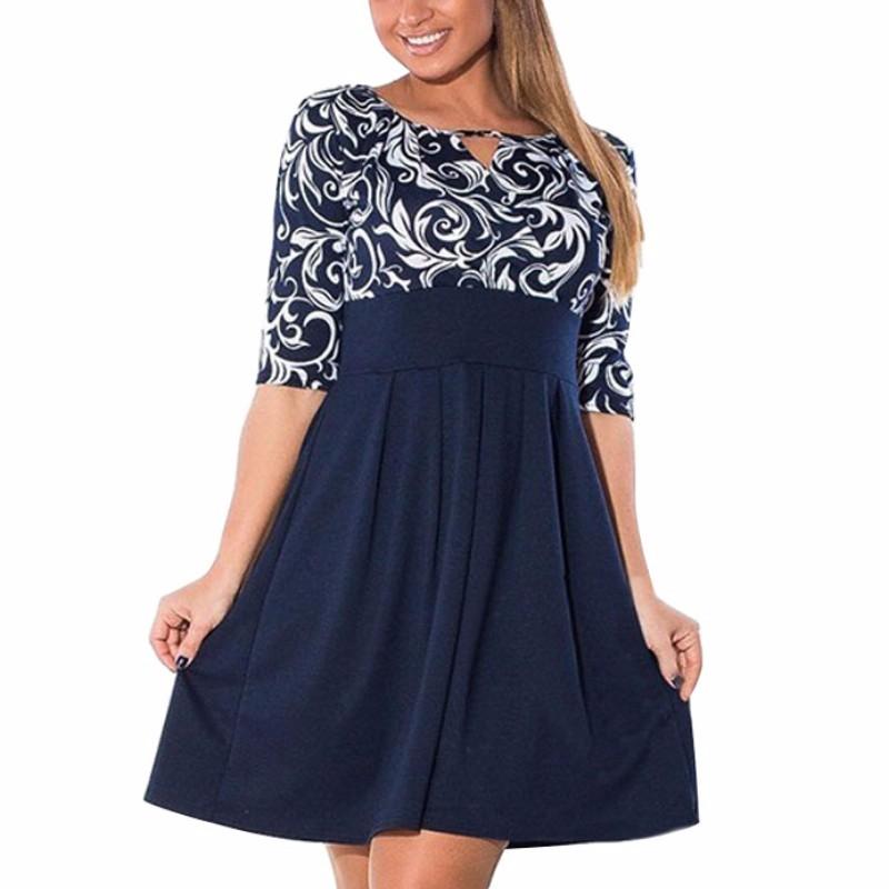 Krátke šaty pre molet - veľ. L-6XL - Obrázok č. 2