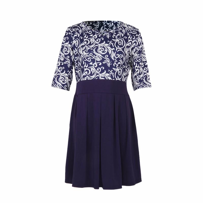 Krátke šaty pre molet - veľ. L-6XL - Obrázok č. 4