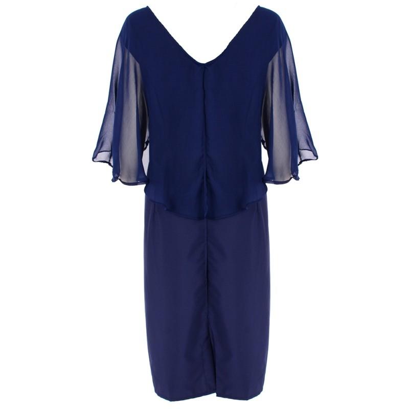 Krátke spoločenské šaty pre moletky - 7 veľkostí - Obrázok č. 4