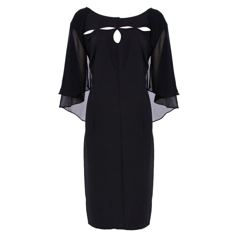 Krátke spoločenské šaty pre moletky - 7 veľkostí - Obrázok č. 3