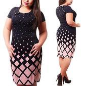 Krátke spoločenské šaty pre moletky - 7 veľkostí, 50