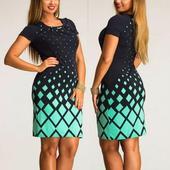 Krátke spoločenské šaty pre moletky - 7 veľkostí, 42