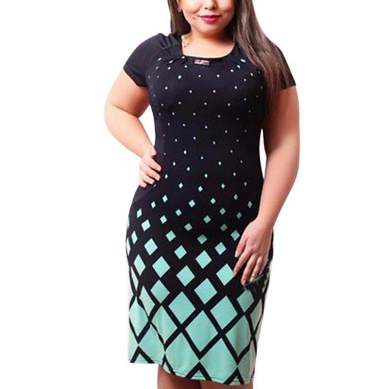 Krátke spoločenské šaty pre moletky - 7 veľkostí - Obrázok č. 2