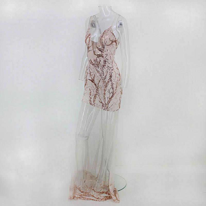 Dlhé spoločenské šaty - 4 veľkosti - Obrázok č. 3