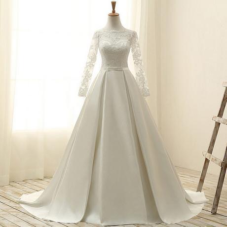 Dlhé svadobné šaty - 15 veľkostí - 3 farby - Obrázok č. 3
