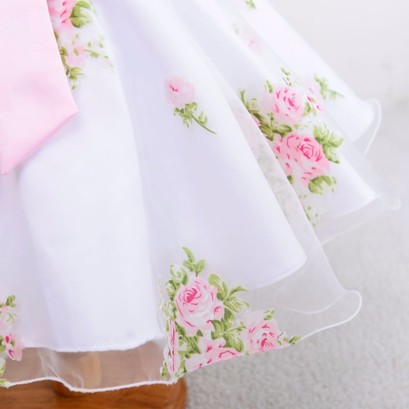 Šaty pre družičku, na 1.sv.prijímanie-3-14 rokov - Obrázok č. 4