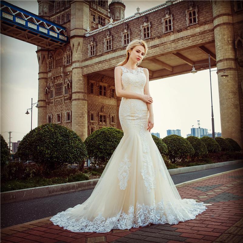 Dlhé svadobné šaty - 13 veľkostí - Obrázok č. 1