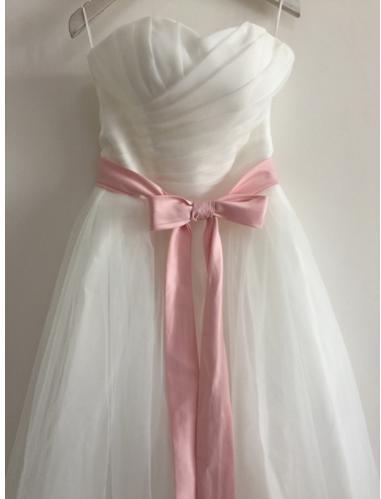 Krátke svadobné resp. po polnočné šaty - Obrázok č. 1