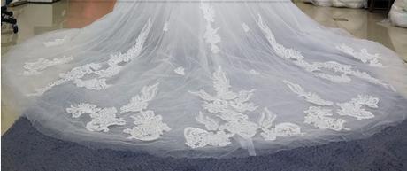 Kvalitné svadobné šaty PC 350 - Obrázok č. 3