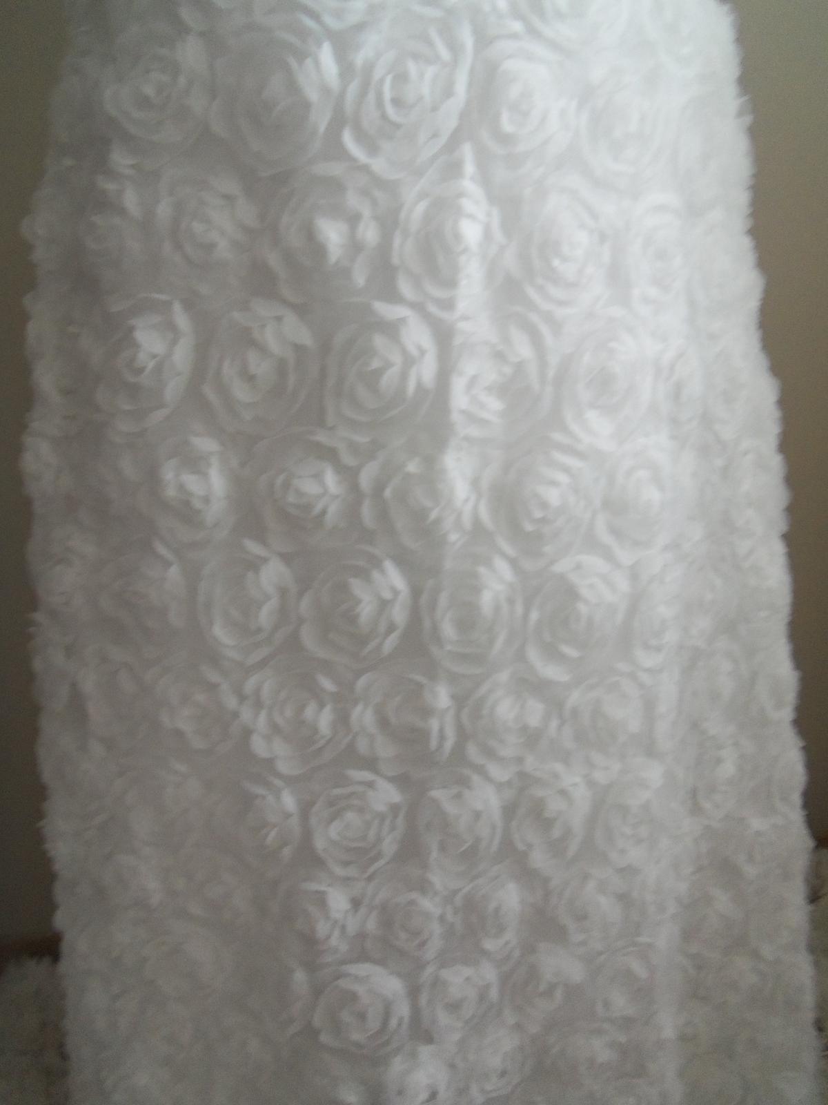 Svadobné šaty EU36-42-regulácia+možnosť rozšírenia - Obrázok č. 2